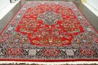 Persian Traditional Vintage Large  9.7 X 13.5 Oriental Rug Area Carpet Rugs