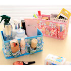 Foldable Cosmetic Storage Box Container Bag Desktop Makeup Organizer Holder 1X