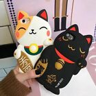 Kawaii 3D Lucky Cat Mascot Soft Silicone Case Cover For iPhone 7 7 Plus 6s Plus