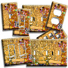 light painting video - GUSTAV KLIMT TREE OF LIFE GOLD PAINTING LIGHT SWITCH PLATE OUTLET WALL ART COVER
