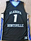 ALABAMA HUNTSVILLE CHARGERS MEN'S NCAA BASKETBALL JERSEY #1 NEW! S., M. OR L.
