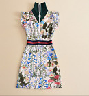 2017 occident designs novel pretty maiden dress free shipping vintage S M L XL