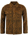 NEW MADCAP ENGLAND MOD RETRO 60s MENS PAISLEY LENNON CORD JACKET: TAN MC285