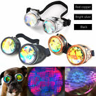 Festivals Kaleidoscope Rainbow Glasses Prism Diffraction Crystal Lenses Fashion