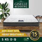 Giselle Bedding Mattress QUEEN KING SINGLE DOUBLE Bed Bonnell Spring Foam 16CM