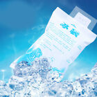 10X Reusable Cooler Ice Gel Water Pack Bag Cold Compress Summer Cool 100-600 ML