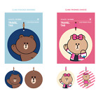 Line Friends Label Name ID Tag Suitcase Luggage Baggage Bag Strap Label Holder