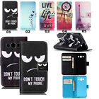 Hybrid Flip Card Wallet Leather Case Cover Stand Pouch For Various Smartphones
