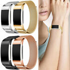Stainless Steel Metal Band Wrist Watch Straps Bracelet Clasp For Fitbit Charge 2