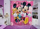 3D Mickey Mouse 02 Blockout Photo Curtain Printing Curtains Drapes Fabric Window
