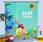 3D Ocean Baby 2 Blockout Photo Curtain Printing Curtains Drapes Fabric Window AU