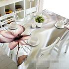 3D Silk Flowers 4 Tablecloth Table Cover Cloth Birthday Party Event AJ WALLPAPER