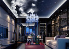 3D Cloud and Moon Ceiling WallPaper Murals Wall Print Decal Deco AJ WALLPAPER