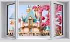 3D Castle Sunshine 677  WallPaper Murals Wall Print Decal Wall Deco AJ WALLPAPER