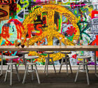 3D Color Graffiti 084 WallPaper Murals Wall Print Decal Wall Deco AJ WALLPAPER