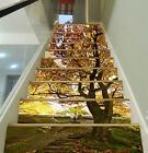3D Pretty Tree 91 Stair Risers Decoration Photo Mural Vinyl Decal Wallpaper UK