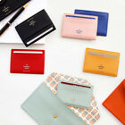 Iconic Flat Mini Wallet for Credit Business ID Card Holder Pocket Slim Purse