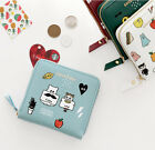 Ghost Pop Zipper Wallet Coin Mini Purse Name Card Case Pocket Keyring Key Holder