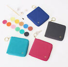 Basic Prism Zipper Keyring Wallet Credit Business Card Money Holder Pocket Purse