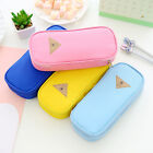 Yoocart Stationery Canvas Pen Pencil Case Cosmetic Bag Travel Makeup Bags