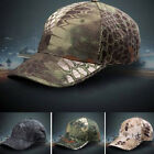 1PC Unisex Army Camouflage Military Camo Forest Soldier Hunting Hat Baseball Cap