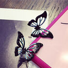 1 Pair New Fashion Big Butterfly Stud Earrings For Women Cute Party Jewelry