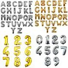 16''/ 40'' Foil Balloon Letter Number Shape Float Helium Wedding Birthday Decor