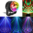 RGB LED Projector DJ Disco Lighting Stage Light Ball Sound Activated Party Show