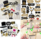 2018 New Year's Eve Party Supplies Card Masks Photo Booth Props Decorations