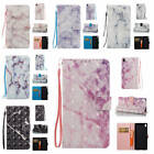 For Sony Xperia XA Marble Pattern Glossy Synthetic Leather Card Stand Case Cover