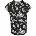 Puma Sports Style Short Sleeved Kids Training T-Shirt Black 838938 01 Opp U18