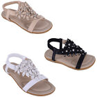 Womens Ladies cushioned Summer Holiday Beach Open Toe Comfy Sandals Shoes Size