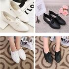 White Spring Women Casual Shallow Mouth Flat Pointed Toe Loafers Shoes