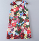 17 occident 3D flowers high quality perfect fashion dress beading printing