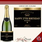 L9S Personalised Prosecco Brut Bottle Grand Label - Various Sizes Available!