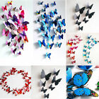 12pc 3D Butterfly Wall Decals Decal Home DIY House Decor