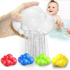 Rainbow Clouds shaped Bathroom Spray Type Baby Bath Play Toy Water Spraying Tap