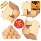 SMALL GIFT MAILING POSTAL CARDBOARD BOXES 7x5x5""