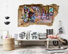 3D Alley Graffiti 1 Wall Murals Wall Stickers Decal Breakthrough AJ WALLPAPER AU