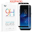 2Pcs Samsung Galaxy S8/S8 Plus Screen Protector Tempered Glass 3D Glass Shield