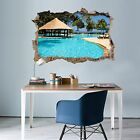 3D Swimming Pool 17 Wall Murals Wall Stickers Decal Breakthrough AJ WALLPAPER AU