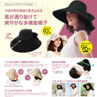 Japan Brand Fashion Collapsible Reversible UV Cut Wide Beam Hats Caps K-294