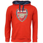 Puma AFC Arsenal FC Crest Hoody Mens Hooded Pull Over Jumper Red 747486 01 R9