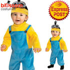 CK1038 Despicable Me Boys Minion Kevin Toddler Fancy Dress Costume Kid Book Week