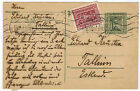Postal Stationery Card sent from Austria to Estonia, 1922, advertising cancell.