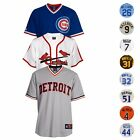 MLB Majestic Athletic Team  Player Mens Official Cooperstown Jersey Collection