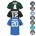 "NFL ""Eligible Receiver"" HOF Retired Player Jersey T-Shirt Collection - Men's $17.99 USD"