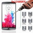HD Clear Tempered Glass Curved Protector Screen For LG K4 K8 K10 V10 New