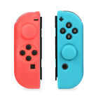Nintendo Switch Joy-Con Joycon Anti-Slip Silicon Guard Skin Case+Thumb Grip Caps