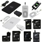 Qi Wireless Charger Pad + Receiver + Adapter for Samsung + iPhone 6 S 7 8 Plus X
